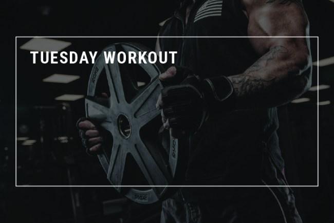 Allenarsi con un bodybuilder - Marcello Corsini - Martedì