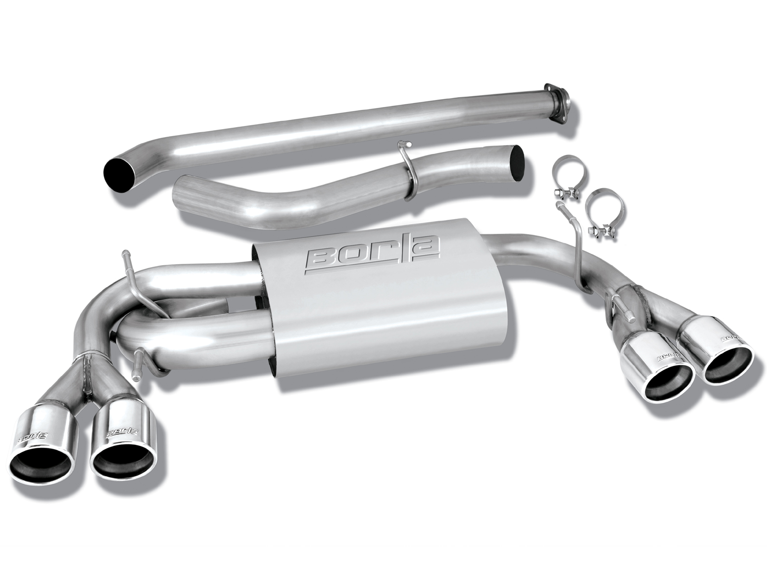 details about borla cat back exhaust s type part 140312 for impreza wrx wrx sti 2008 2014