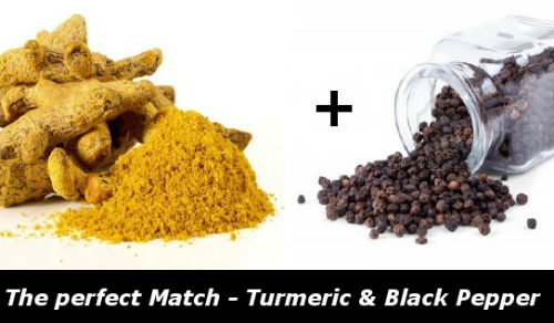 turmeric and pepper