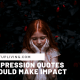Depression Quotes That Could Make Imapact