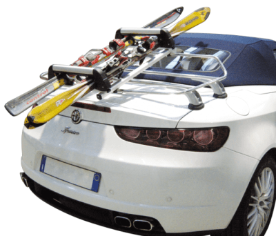 Ski Rack For Car >> Convertible Ski Rack - Aluminium ski rack attaches to luggage racks