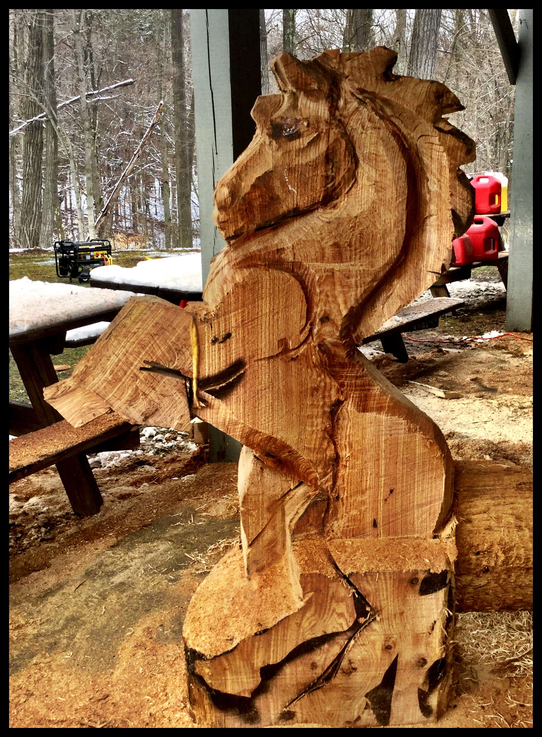 Wood Carving Class – Horse – Artists Boot Camp Advanced Classes