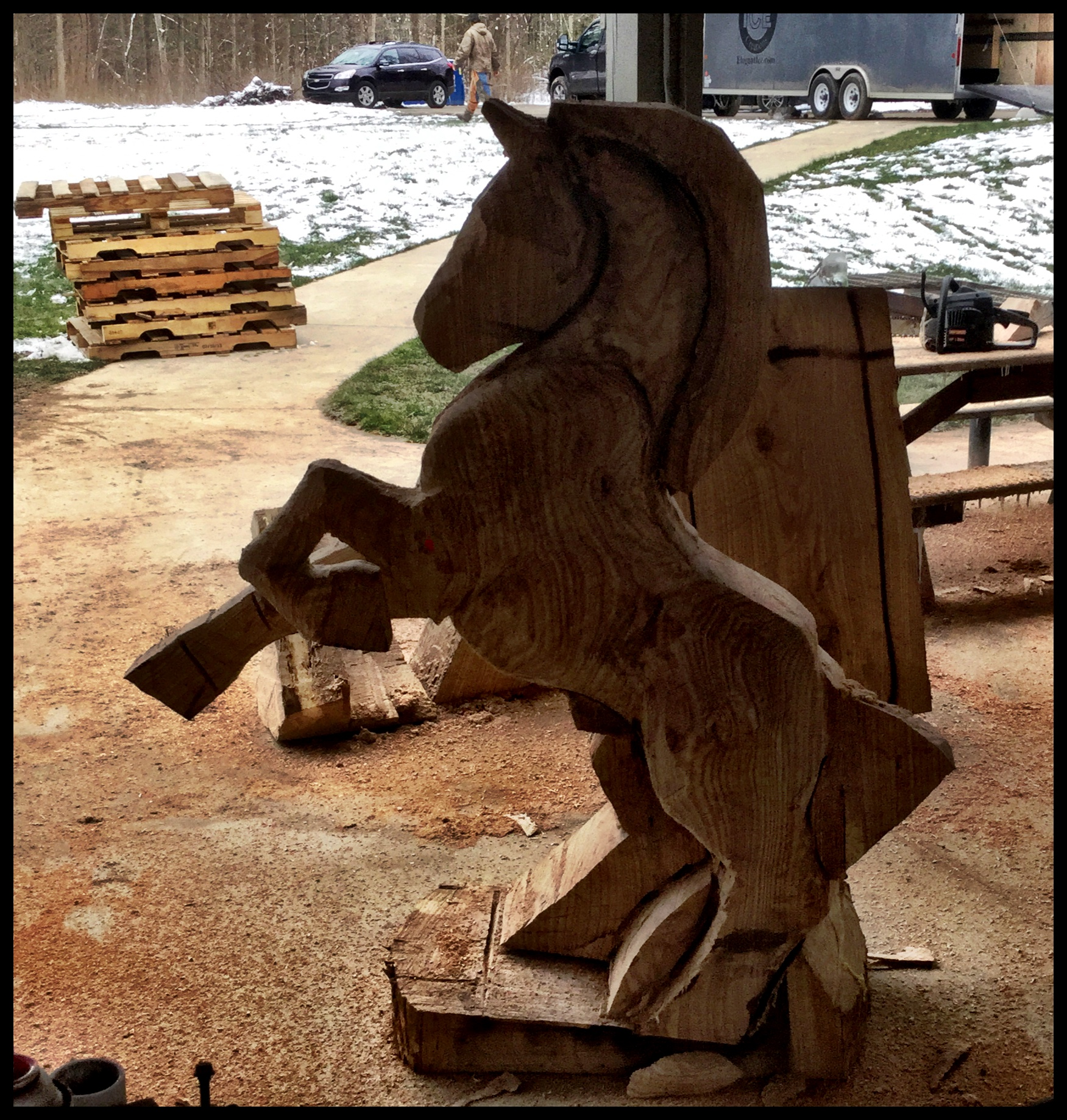 Wood Carving Class