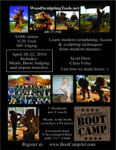 Boot Camp flyer 2018