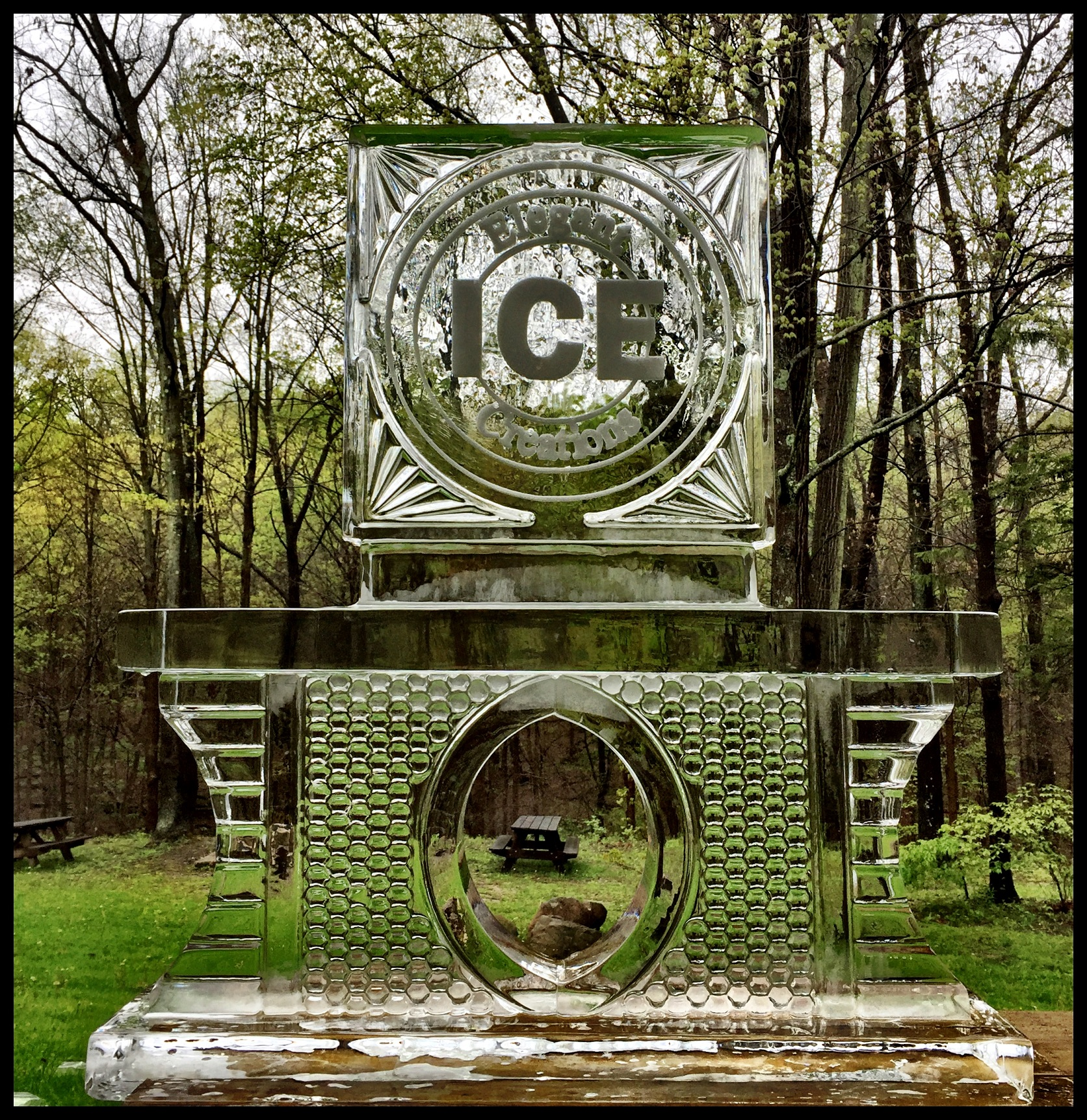 CNC Ice Sculpture