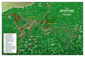 Adventures on the Gorge Map