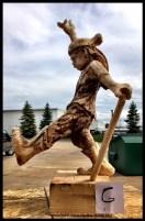 Jester Wood Sculpture