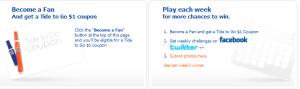 tide fan page contest