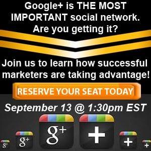 Google Plus training course