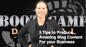 3 Tips for Producing Amazing Blog Content for Your Business