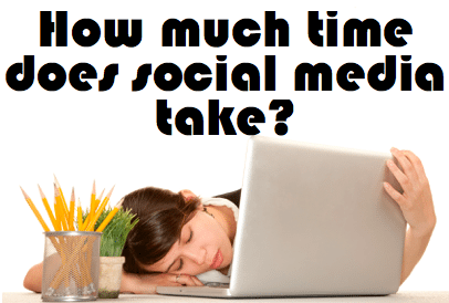 How much time does social media take