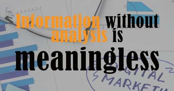 Digital Marketing Information Analysis