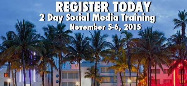 2 day social media workshop miami fl