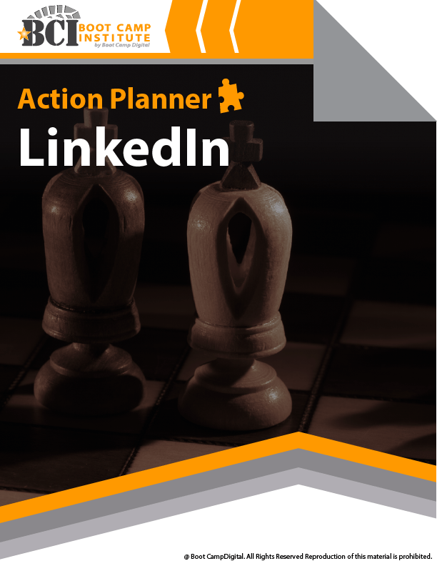 Action Planner for LinkedIn Marketing Course