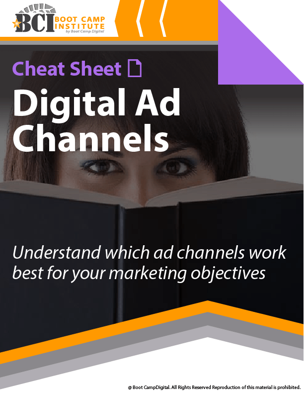 Cheat Sheet Digital Ad Channels