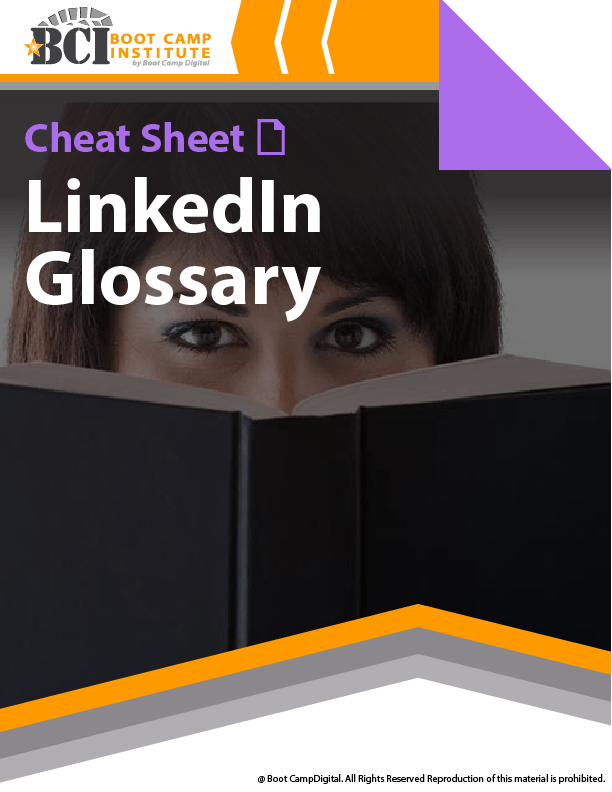 Cheat Sheet LinkedIn Glossary