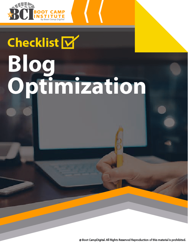 Checklist Blog Optimization