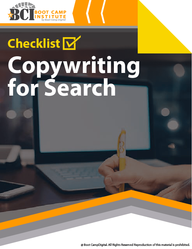 Checklist Copywriting for Search