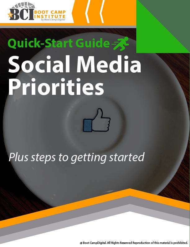 Quick-Start Social Media Priorities