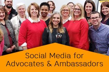 SOcial Media for advocates and ambassadors