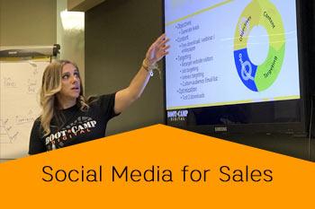 social media for sales speaker