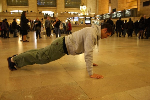 Can't wait to workout at Grand Central Station again :)