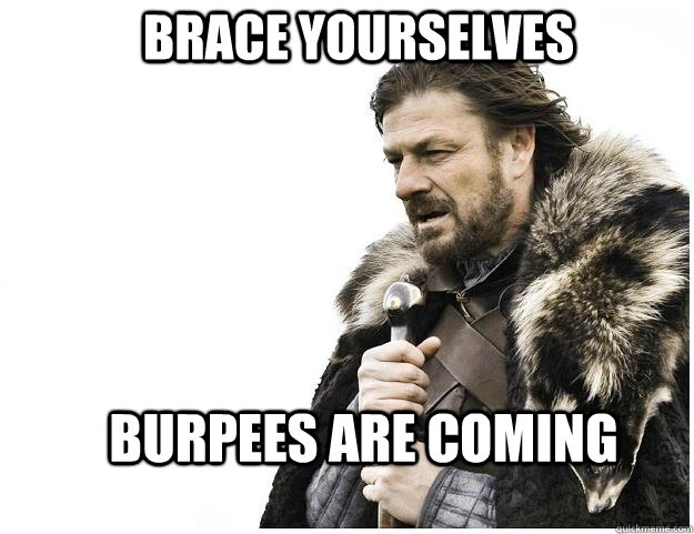 Burpee Filled Bootcamp Workout