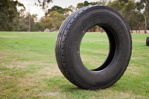 I had two tyres like this, weighing 55kg and another on the same size, but lighter at 35kg.