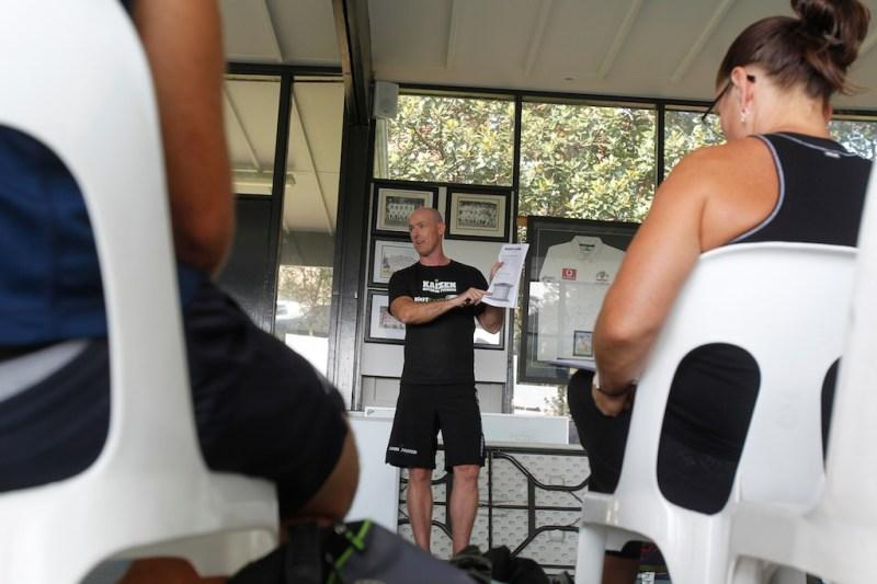 Garry teaching