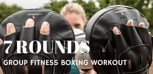 7 Rounds Group Fitness Boxing Workout
