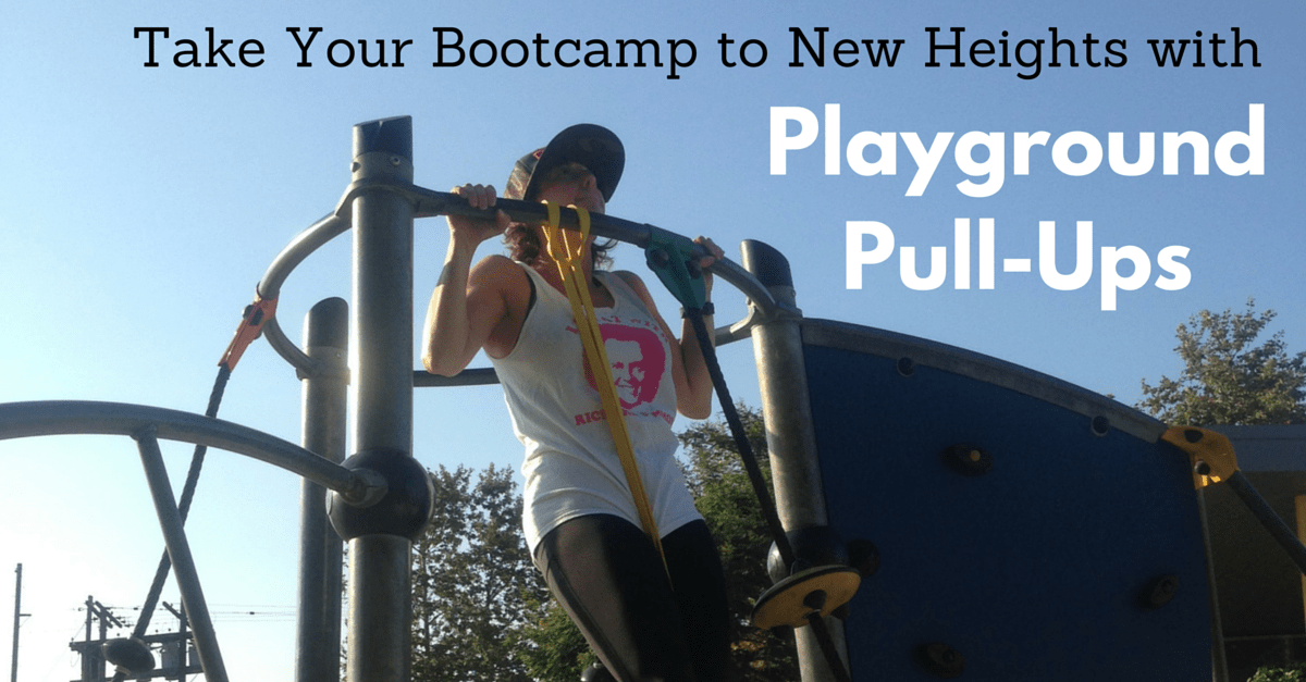 "Take Your Bootcamp to New Heights with ""Playground Pull-Ups"""