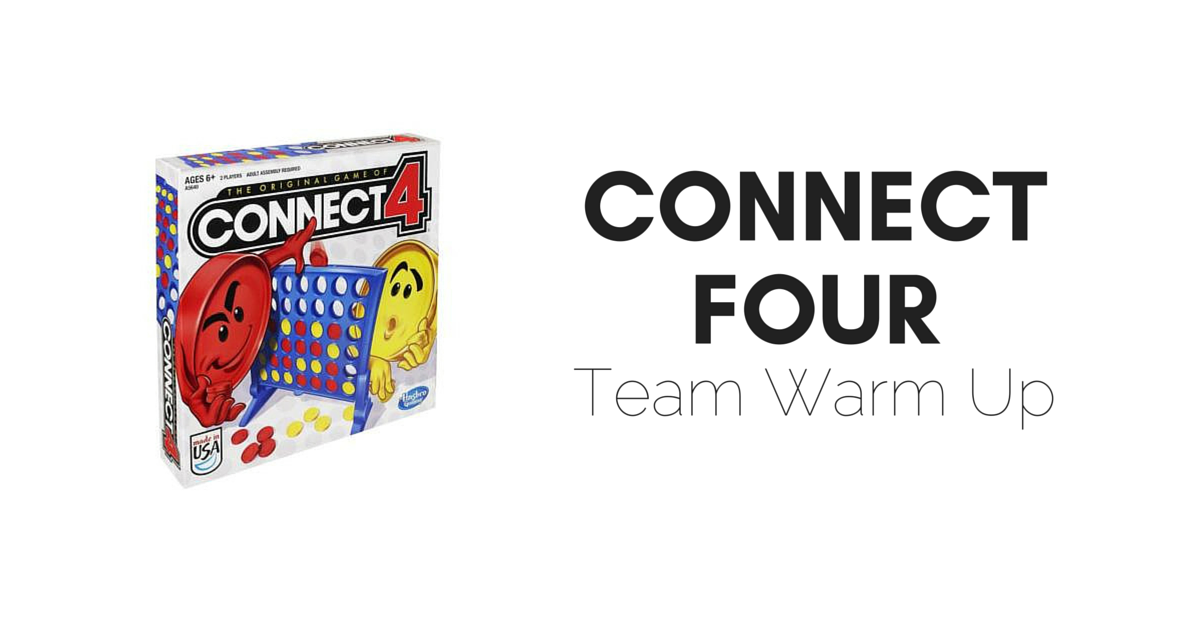 Childhood Throwback: Connect Four Warm-up