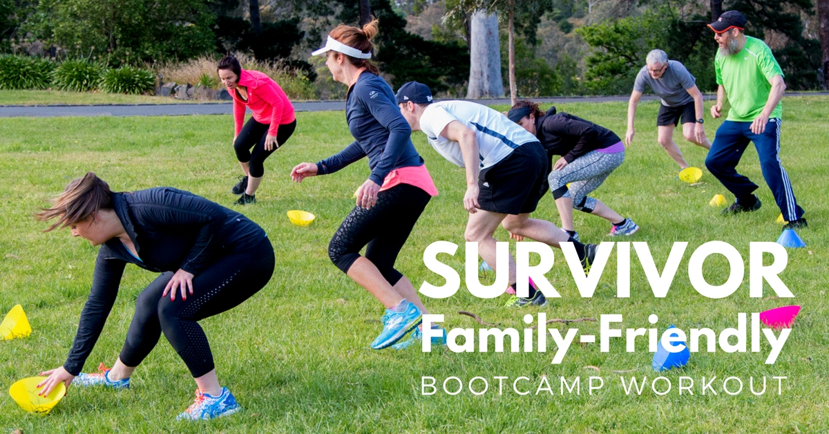 Survivor Bootcamp Challenge Workout
