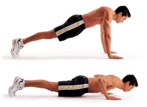 Exercise, Press-up
