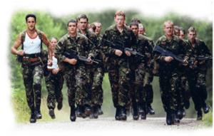 Squad, Running