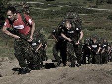 Training, Hills (1)