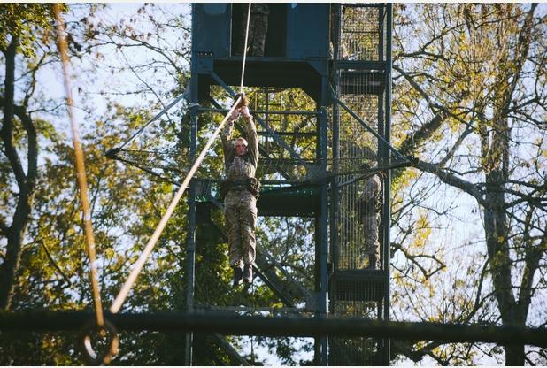 RM, Tarzan Assault Course 1a
