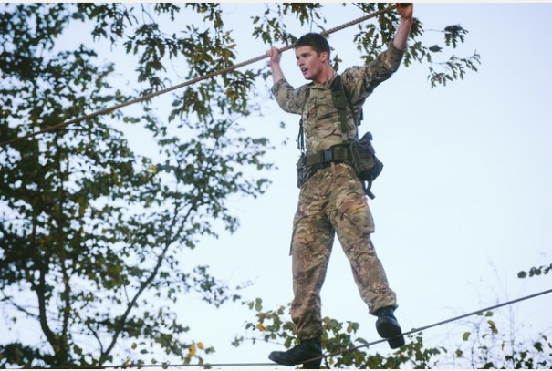 RM, Tarzan Assault Course 6a