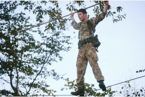 RM, Tarzan Assault Course 6a