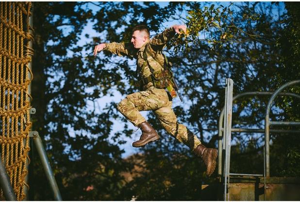 RM, Tarzan Assault Course 9b