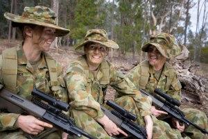 ADF Female Recruits