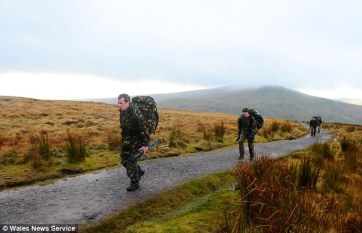 Training, Brecons Beacons, Special Forces, SAS