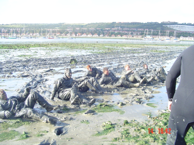Mud Session, not just the preserve of the Royal Marines.