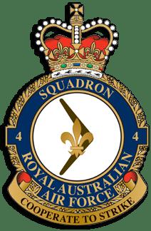 No.4 Sqn Badge
