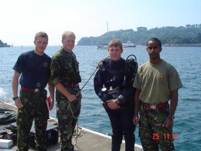 Me with Scotty, Gaz & Simon