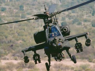 AH-64 Apache Helicopter 01