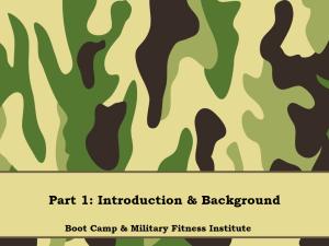 01 - Part 01, Introduction & Background