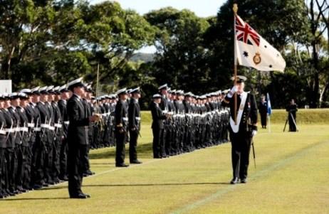 RAN, Officer Graduation Parade, HMAS Creswell