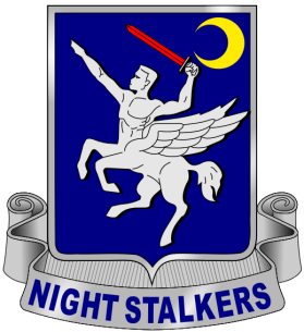 Logo, 160th SOAR, SOF, Special Forces, Night Stalkers, USASOAC