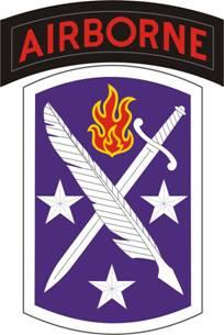 Logo, USASOC, 95th Civil Affairs Brigade